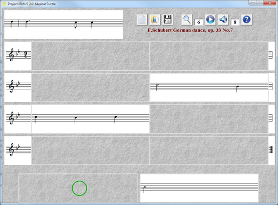 Click to view Musical Puzzle 2.0.0 screenshot