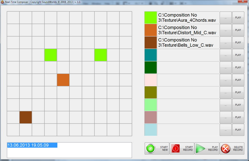 RealTime Composer Screenshot
